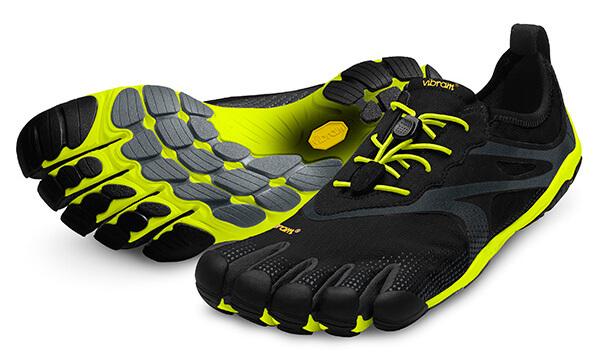 e9354a61d4 Vibram FiveFingers Bikila Evo Black Yellow