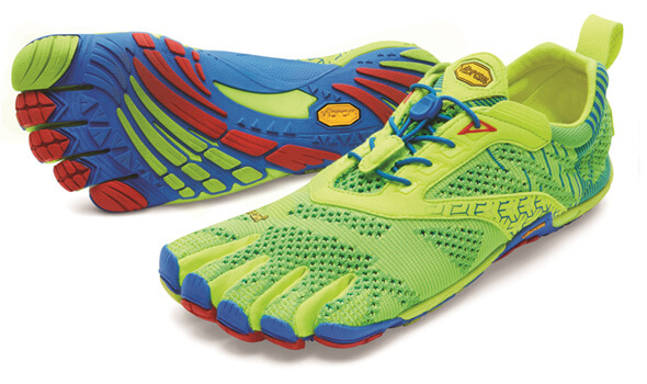 Vibram FiveFingers KMO Evo Yellow Blue Red