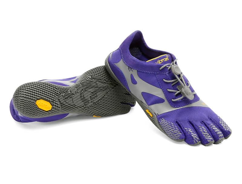 sale retailer d1d6e 7ca71 Vibram FiveFingers KSO Evo Purple Grey